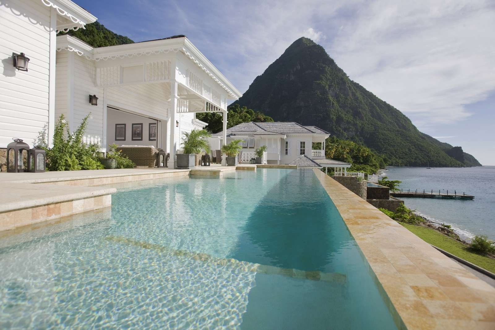 St Lucia Sugar Beach main image