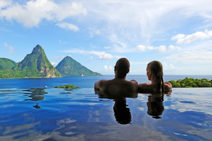 St Lucia Honeymoon Packages Jade Mountain image